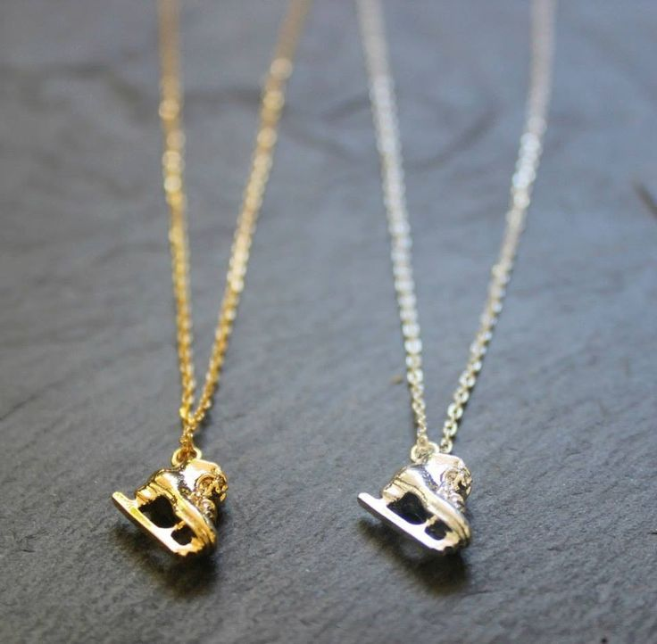 Ice skates Necklaces
