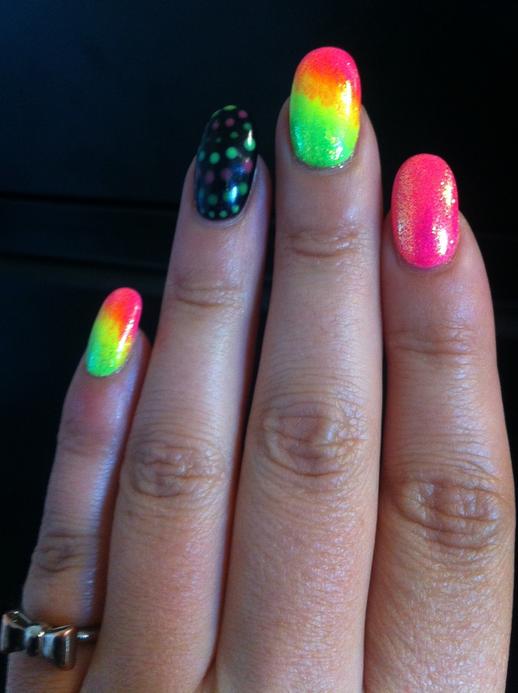 30 best Neon nails images on Pinterest | Neon nails, Nail arts and ...