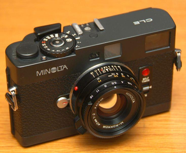 ミノルタ CLE http://nikomat.org/priv/camera/CLE/