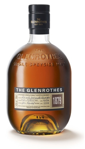 The Glenrothes-Richard's favorite scotch, a gift from Gabriel at Thanksgiving