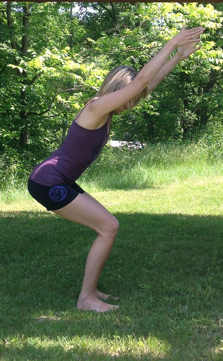 Squeezed Yoga Clothing Yoga Shorts in Black with a Violet OM. Perfect for Summer ! http://squeezed.ca/shop/category/shorts