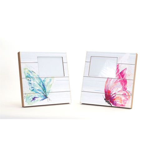Butterfly Photo Frame, Set of Two