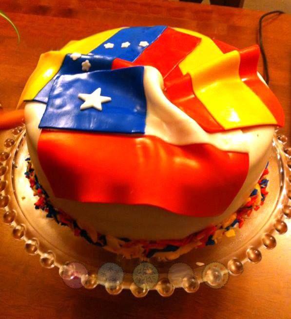 Torta Banderas
