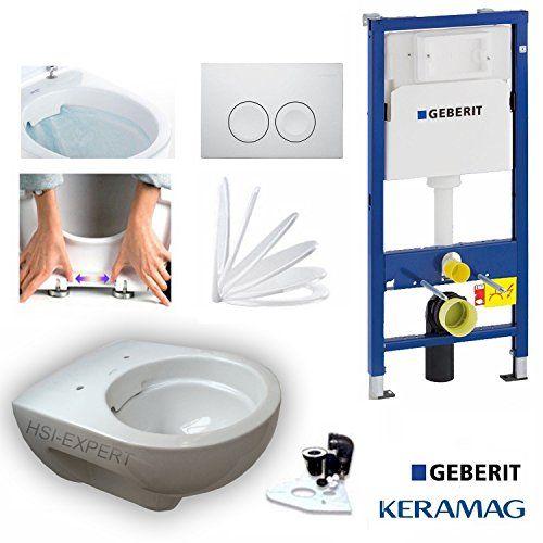 http://ift.tt/1QAWnN3 Geberit Duofix Vorwandelement mit Delta 21 Keramag Renova Nr. 1 rimfree Spülrandlos Tiefspül-WC inkl. Sitz und Beschichtung &(bibuby)#$