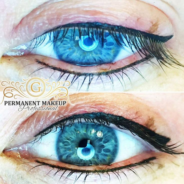 Eyeliner close up 💙 Our clients testify to the fact that our procedures are painless and deliver a result you could never achieve👌 even with liquid liner, PERMANENTLY!😉   #permanentmakeupbyGwendoline #PMUbyG #eyeliner #losetheliquid #gorgeous #eyeliner #painless #professional #artist #pmuexpert #allabouttheeyes