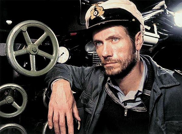 "Das Boot: Jürgen Prochnow as Kapitänleutnant (abbr. ""Kaleun"")"