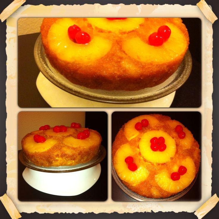 Una deliciosa Tarta de Piña, que me hace retroceder al pasado y a mi Venezuela!!! mmm