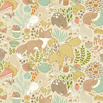 Teagan White - foxes #illustration #pattern