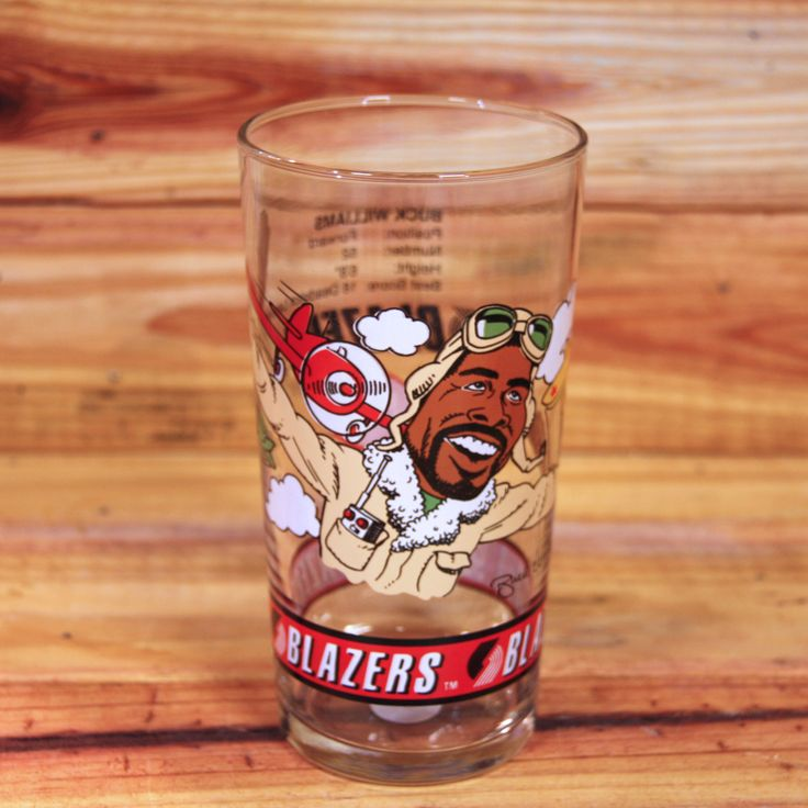 Portland Trail Blazers Buck Williams Cup from the Dairy Queen Collection 1993 by ArtMaxAntiques on Etsy