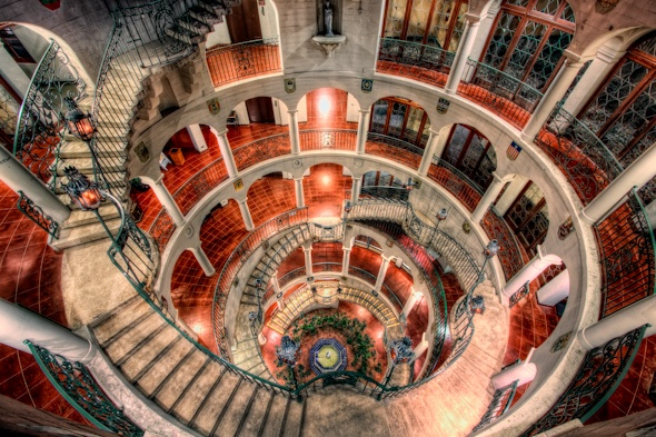 Riverside Mission Inn Rotunda (Five Stories) love this...