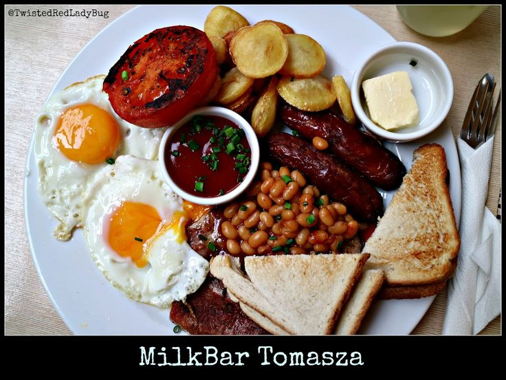 The Best English Breakfast in Town, vetted by all the British that ever made it here ;) = Milkbar Tomasza on the Tomasza street in the Old Town, just a few steps away from the Main Market Square. One of the questions arising when it comes to breakfast options is where to find the best English Breakfast.