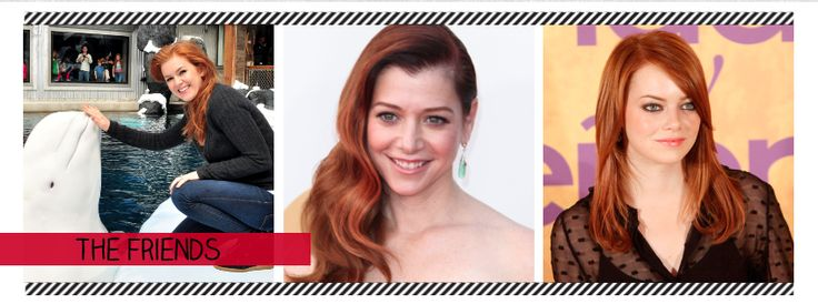 Celebrities With Red Hair: The Friends