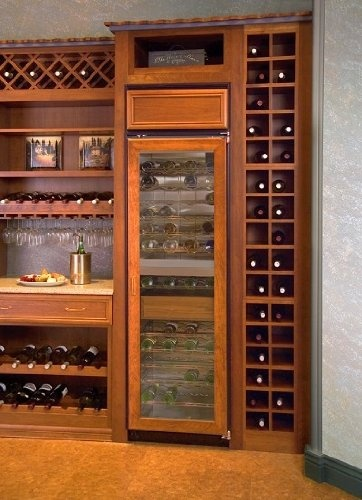 northland panel ready built in wine cooler 242zsgp - Built In Wine Cooler