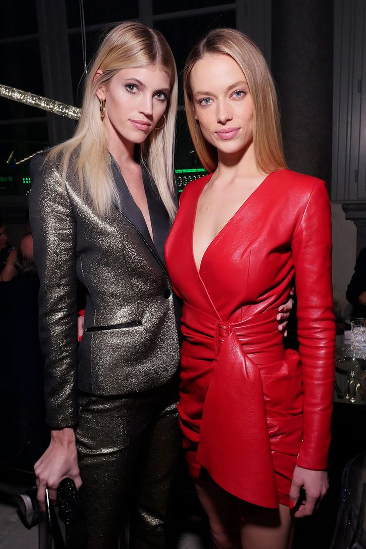 Devon Windsor & Hannah Ferguson attend ADR Beyond Fashion