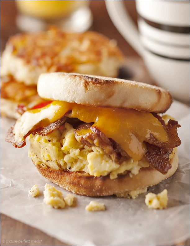 Bacon, Egg, And Cheese Sandwich, New York City Deli-Style Recipe ...