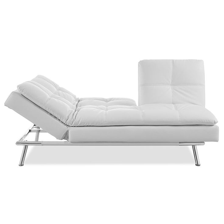 palisades modern sleeper sofa chaise lounge - Modern Sleeper Sofa