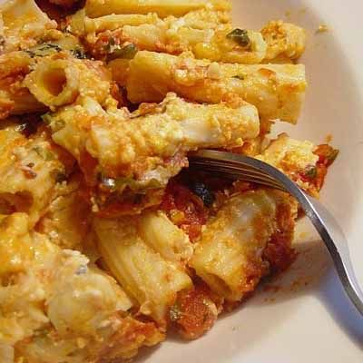The best baked ziti ever! Courtesy of the good people at Cook's Illustrated.