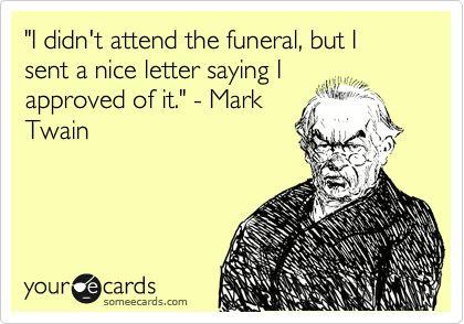 Mark Twain (Literary Insults)