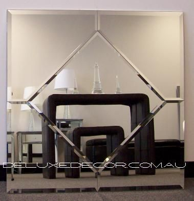 Bevelled Frameless Modern Square Wall Mirror 4536 (900 x 900 mm) http://deluxedecor.com.au/products-page/wall-mirrors/bevelled-frameless-modern-square-wall-mirror-4536-900-x-900-mm/