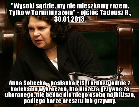 Anna Sobecka (PiS, Toruń) - http://wiemkogowybieram.blogspot.com/2012/10/anna-sobecka.html