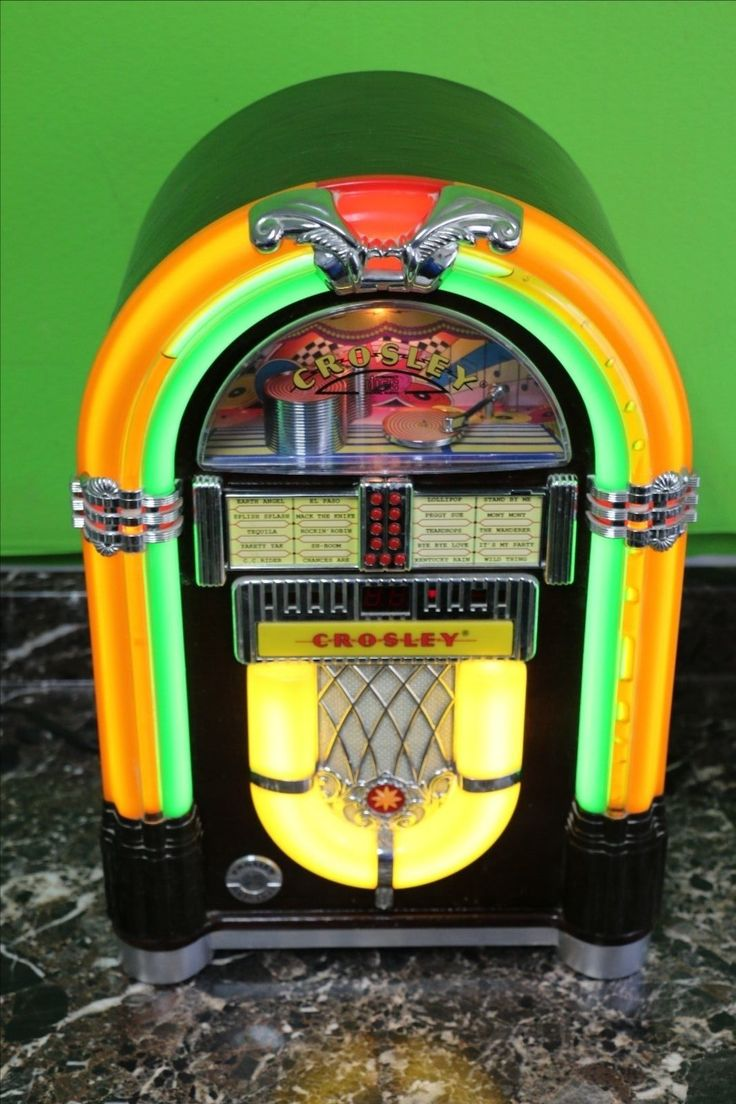 crosley wurlitzer jukebox wr18 1015 mini bubbler. Black Bedroom Furniture Sets. Home Design Ideas