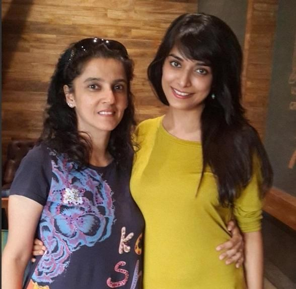 Pooja Sharma With Friend