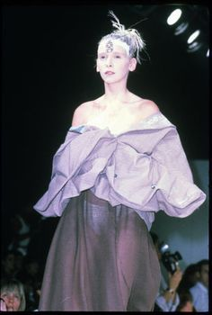 John Galliano S/S 1985 show in London