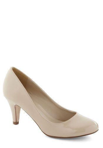 wow good price! Not very high heel height tho. Red Eye Carumba Heel in Sand, #ModCloth