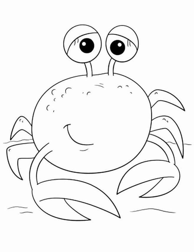 Раскраски рыбок для детей 3-4 лет | Раскраски, Милый ...