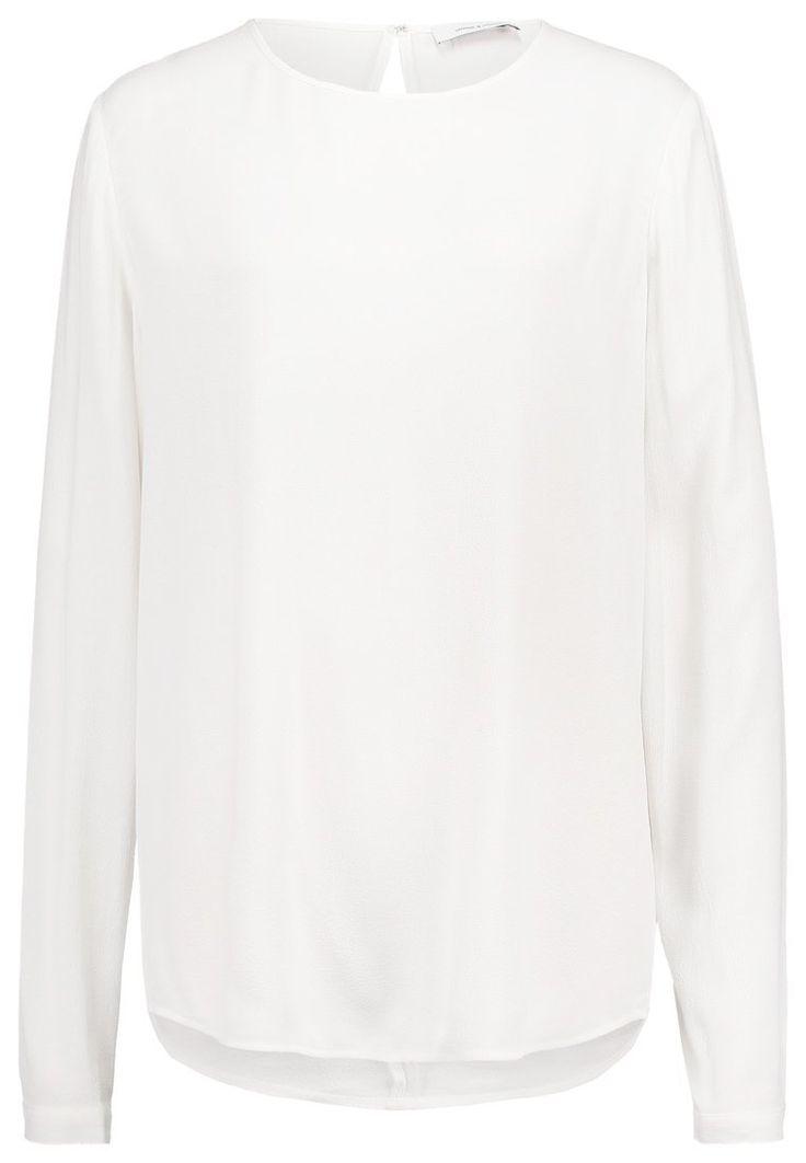 Samsøe Biała koszula bluzka bez guzików