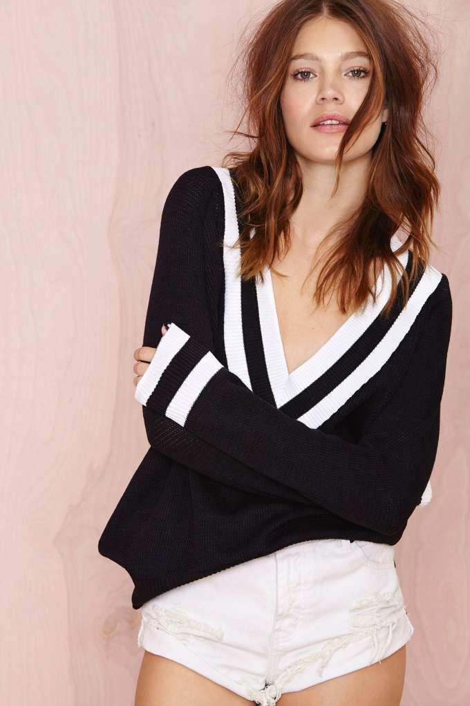 Boys Club Sweater - Navy