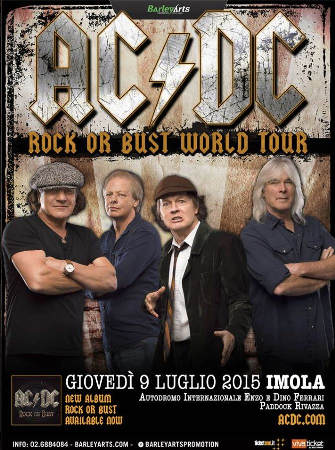 AC/DC | Rock Or Bust World Tour | 14/07/09, Imola (Italy)