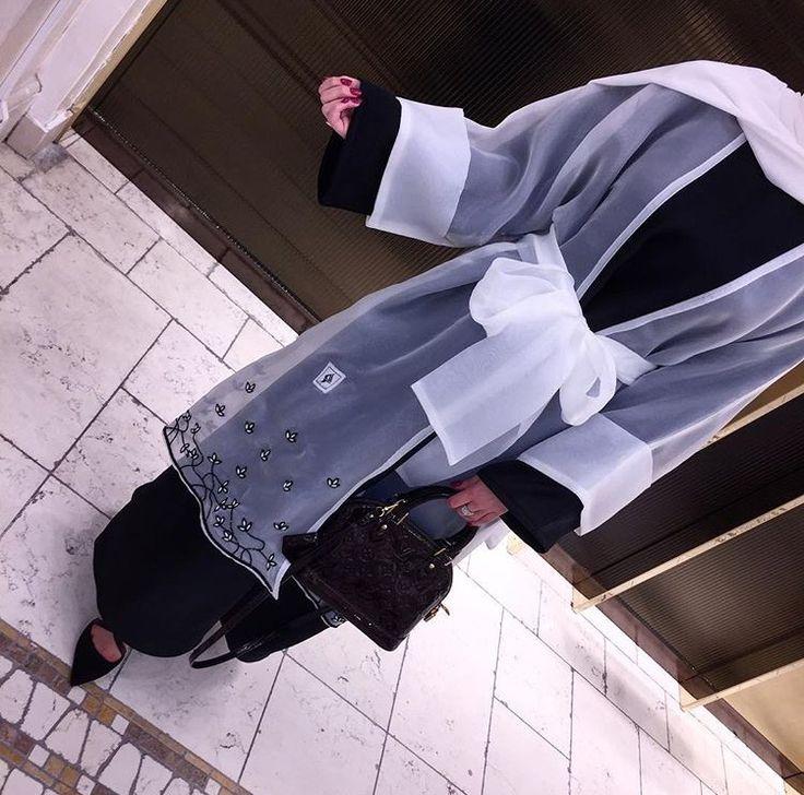 IG: Meim.Line || IG: BeautiifulinBlack || Abaya Fashion ||