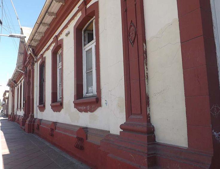 Edificio de Correos de Chile en Santa Cruz.