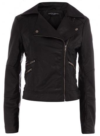 Attractive feminine biker jacket