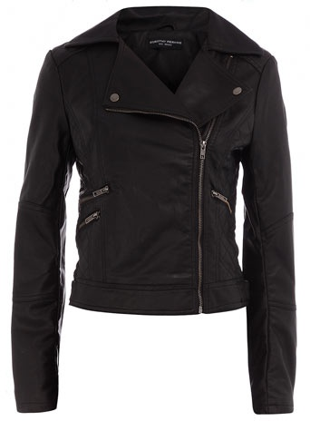 Attractive feminine biker jacket