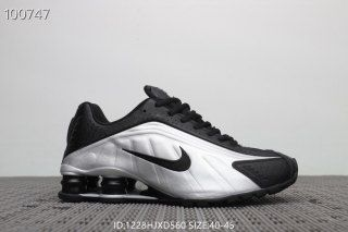 a152f083f3b2b6 Mens Nike Air Shox R4 Winter Footwear Metallic silver grey black ...