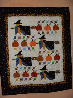 witch quilt I made