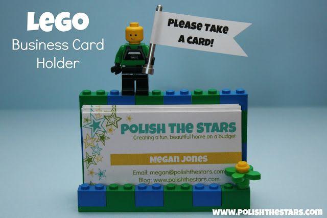 Someday Crafts: Lego Business Card Holder