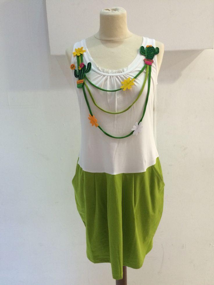 Comounaregadera Vestido de verano 2015 www.patasarribashop.com