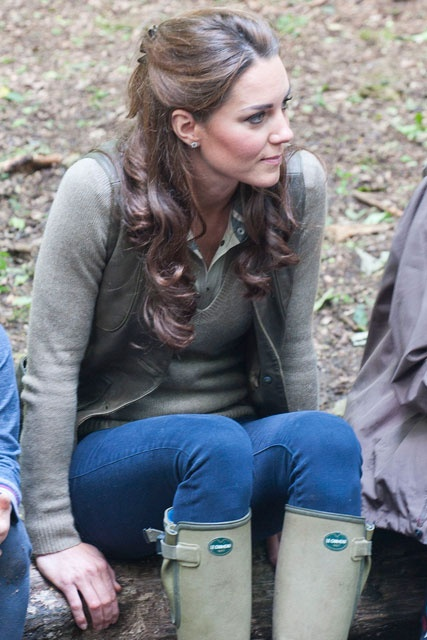 Success, got my wellies! Kate Middleton - Le Chameau Boots  Click the link for more information!: