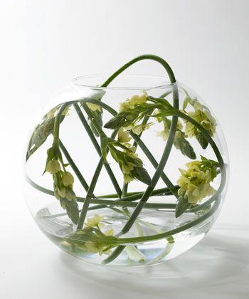Contemporary flower arranging