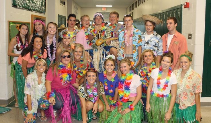 Homecoming Week Spirit Days Luau Day | Student Council Ideas | Pinterest | Homecoming Week ...