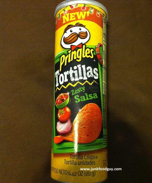 New Zesty Salsa Pringles Tortillas