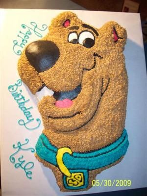 Scooby Doo Cake. punky would loveee!!