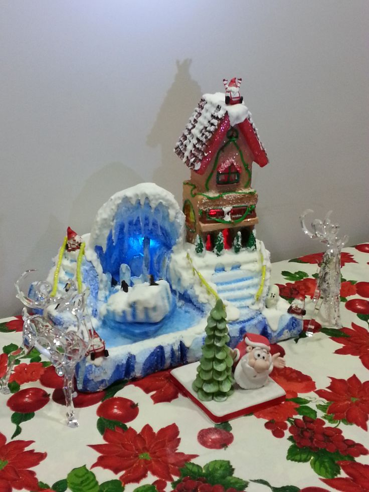 """Gingerbread house iceberg by """"I dolcetti di Floriana"""""""
