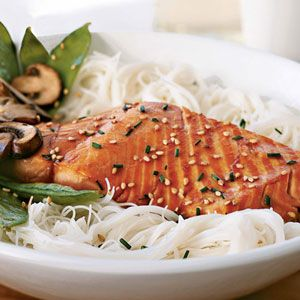 This easy, Asian-inspired sesame-soy salmon is the perfect choice for dinner on busy weeknights.