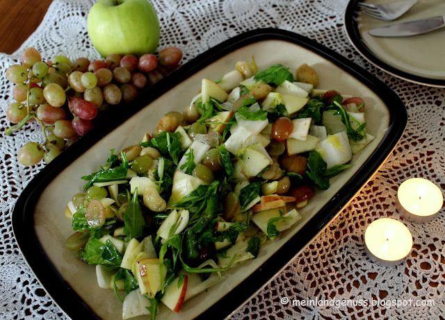 mein Land und Gartengenuss: Fruchtiger Herbst - Salat
