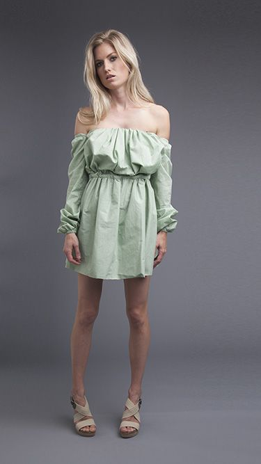 Cafe Dress. Make, buy, sell - custom fit fashion - Stanfordrow.com