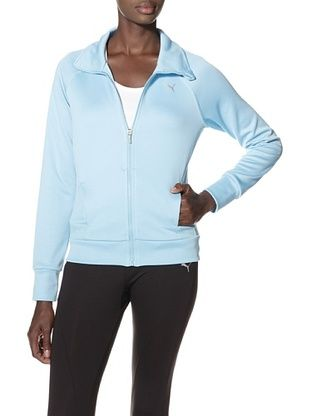 8% OFF PUMA Women's Zip-Up Jacket (Blue Curacao)